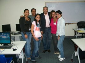 DIRECTV Training, 2010 at ALORICA, DR